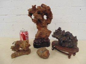 Lot 4 Asian scholar stones