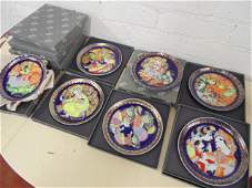 """Set 12 Rosenthal plates, """"Aladin und die Wunderlampe"""""""