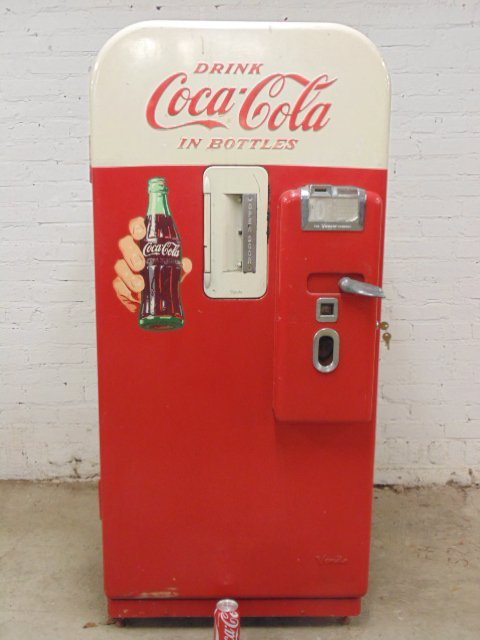 Vendo V-39 Coca Cola vending machine