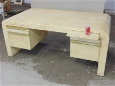 Modern desk, probably by Karl Springer