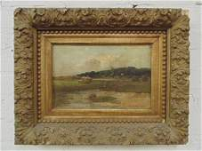 oil on board, landscape, Charles Edwin Lewis Green