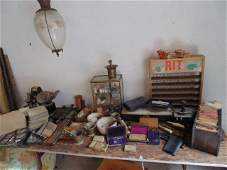 Large apothecary collection