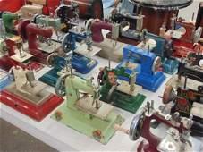Lot 47 miniature sewing machines