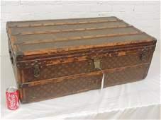 Vintage Louis Vuitton hard case trunk