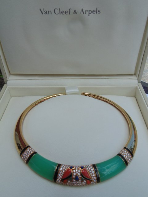 Van Cleef & Arpels Egyptian Revival 18K yellow gold