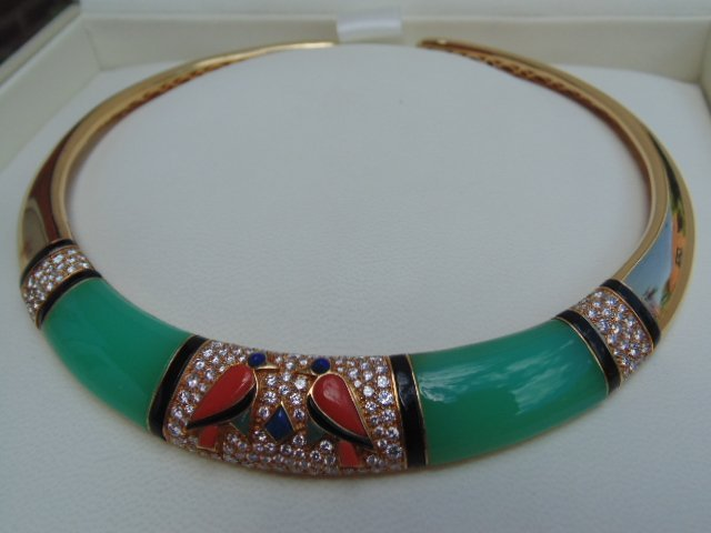 Van Cleef & Arpels Egyptian Revival 18K yellow gold - 2