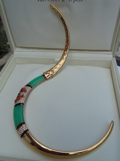 Van Cleef & Arpels Egyptian Revival 18K yellow gold - 3