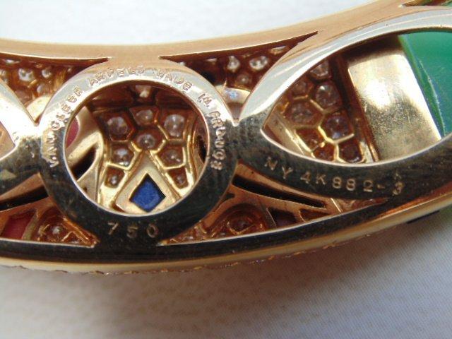 Van Cleef & Arpels Egyptian Revival 18K yellow gold - 9