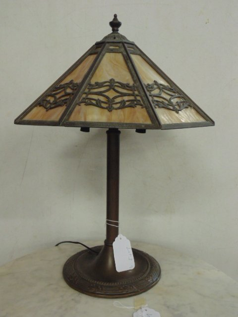 Bradley & Hubbard table lamp