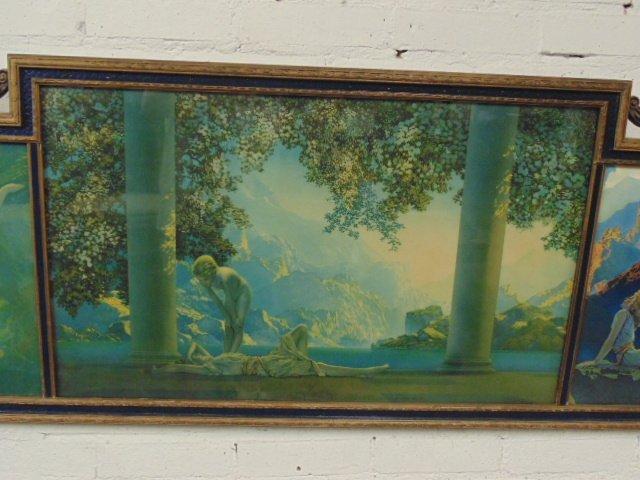 Maxfield Parrish triptych - 3