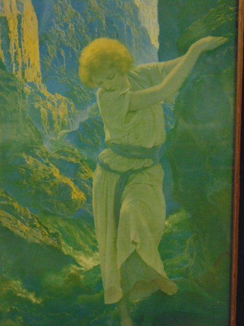 Maxfield Parrish triptych - 5
