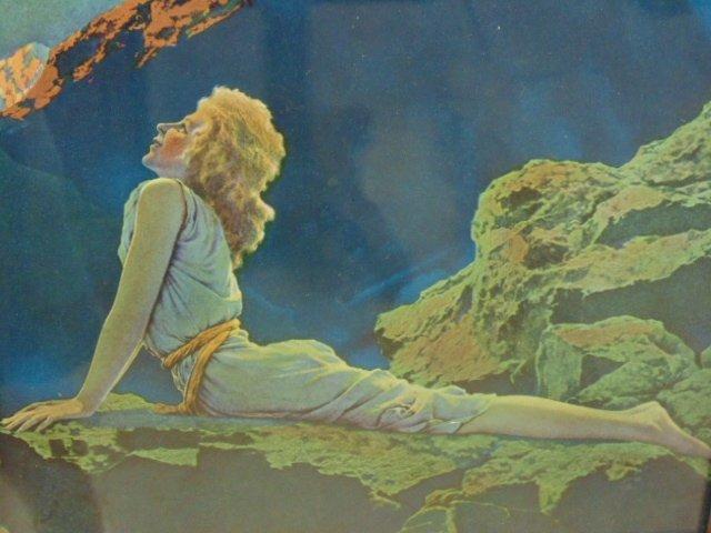 Maxfield Parrish triptych - 7