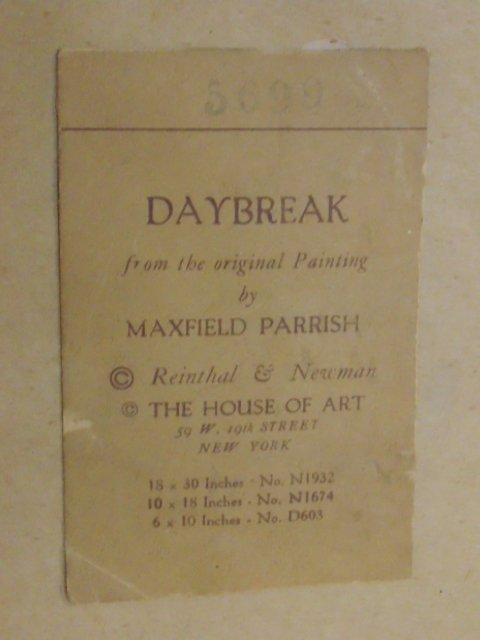 Maxfield Parrish triptych - 9