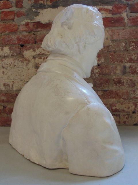 Plaster bust of Edgar Allen Poe,  Richmond VA - 5