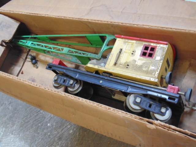 Large set of early Lionel trains - 5
