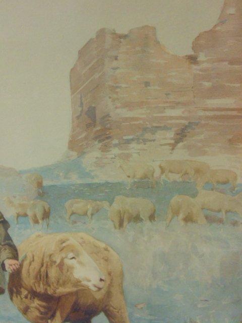 Italian watercolor, signed Domenico de Angelis, Roma - 5
