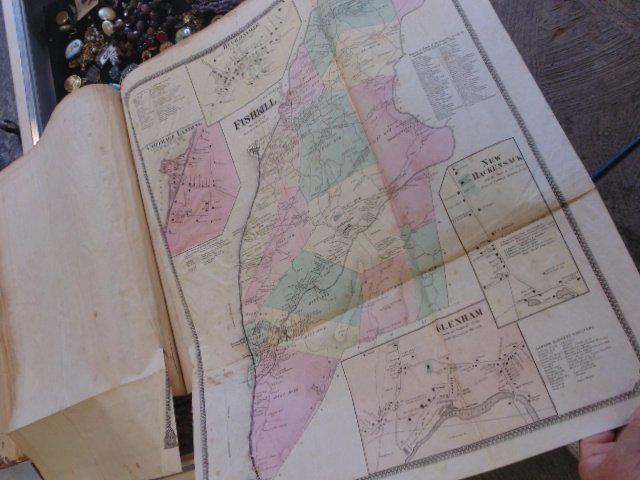Atlas of New York and Vicinity by F.W. Beers 1867 - 10