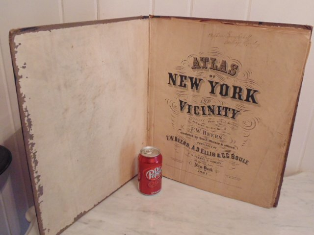 Atlas of New York and Vicinity by F.W. Beers 1867