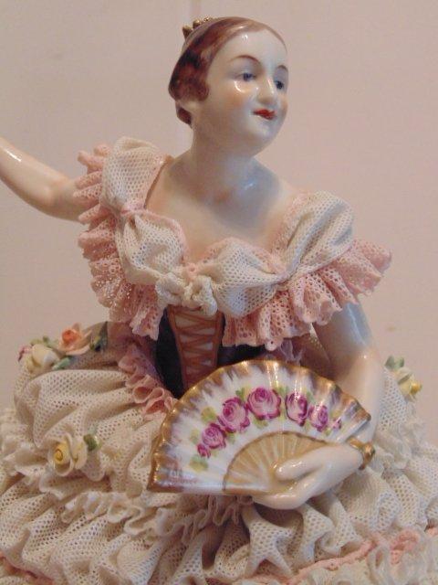 3 porcelain Dresden figurines - 3