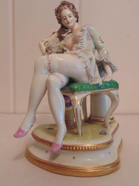 3 porcelain Dresden figurines - 5