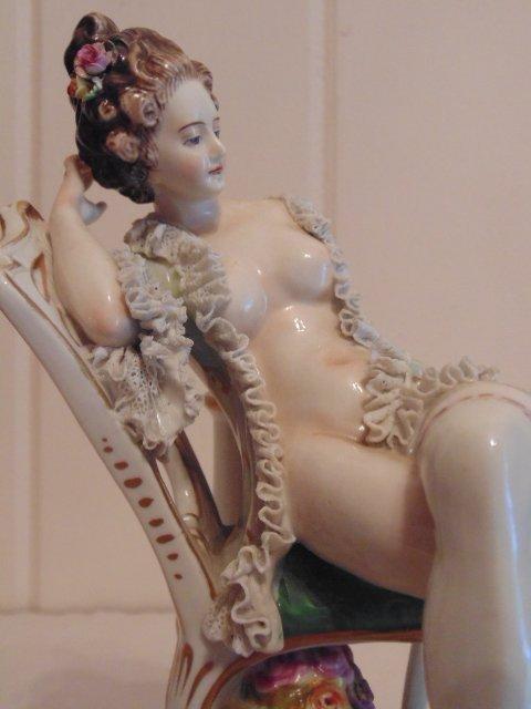 3 porcelain Dresden figurines - 6