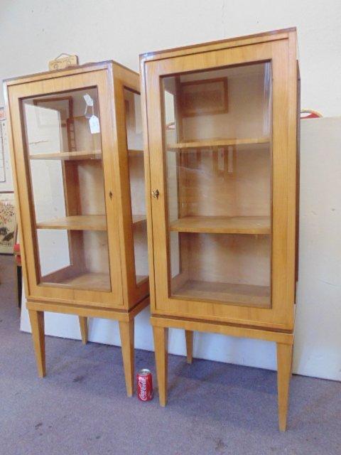 Pair Biedermeier cabinets - 2
