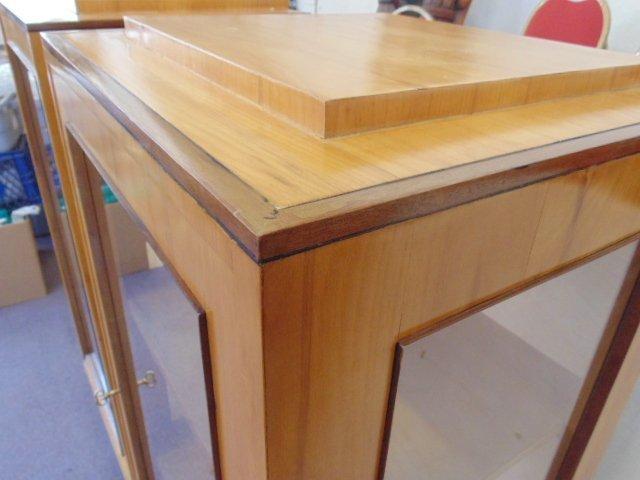 Pair Biedermeier cabinets - 4