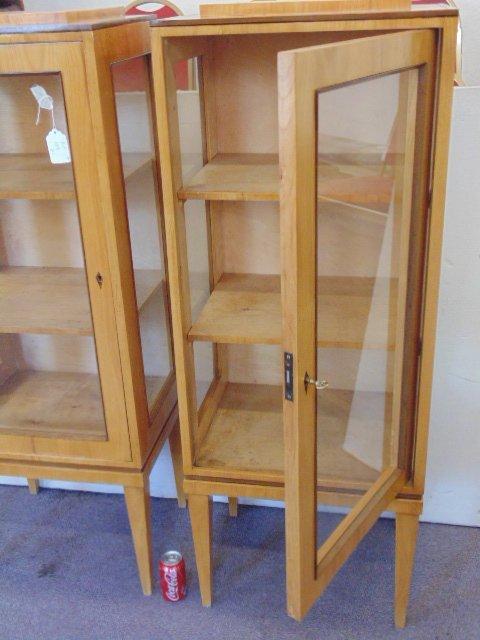 Pair Biedermeier cabinets - 5
