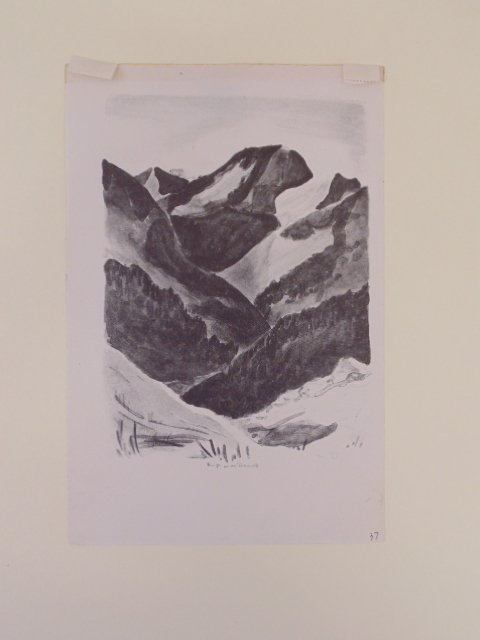 "Lithograph, ""Landscape"", signed Will Barnet - 5"