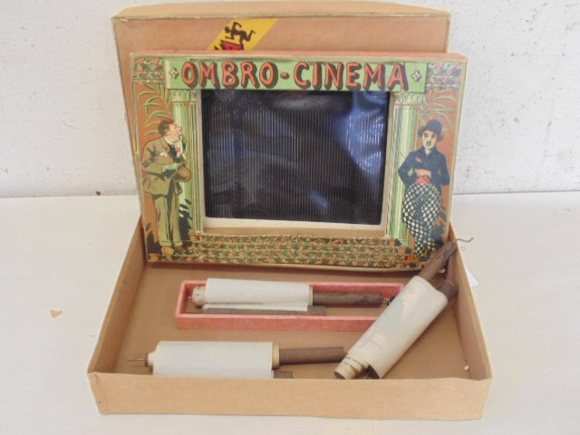 L\'Ombro-Cinéma, 1920. Optical game with 3 rolls