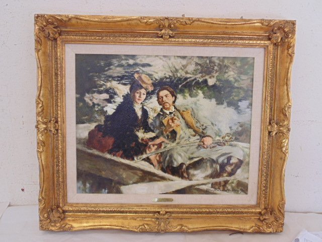 "Oil on canvas, illustration, ""1861"",  Mortimer Wilson"