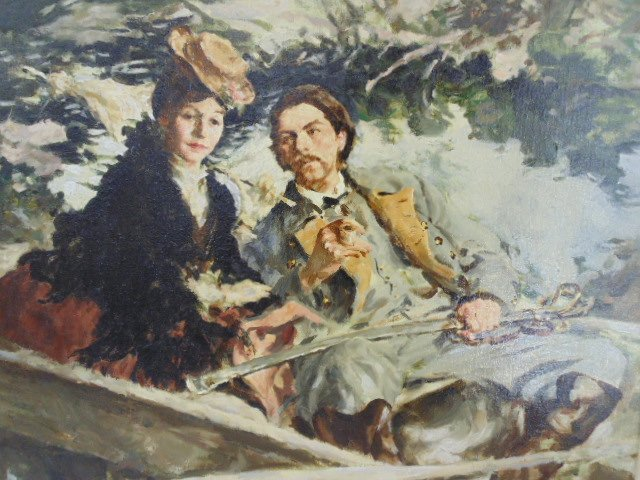 "Oil on canvas, illustration, ""1861"",  Mortimer Wilson - 2"