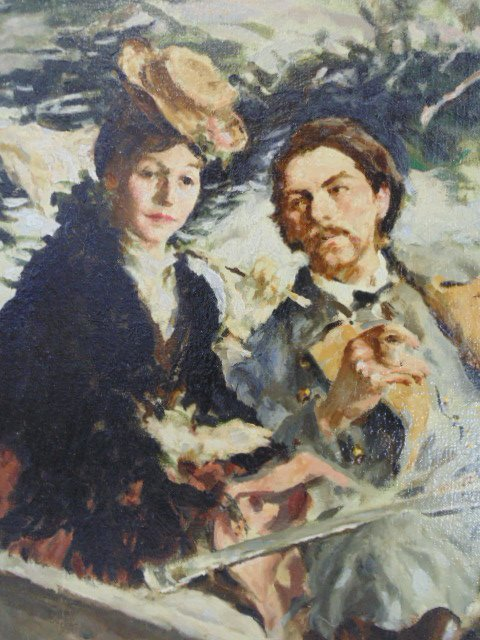 "Oil on canvas, illustration, ""1861"",  Mortimer Wilson - 3"