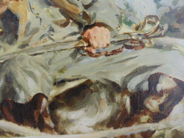 "Oil on canvas, illustration, ""1861"",  Mortimer Wilson - 4"
