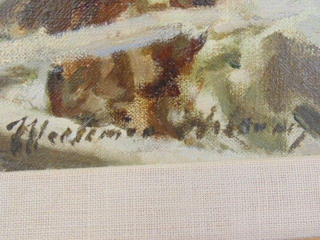 "Oil on canvas, illustration, ""1861"",  Mortimer Wilson - 5"