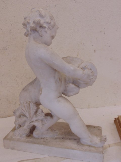 Study in plaster, boy with ram, by Attillio Piccirilli - 8