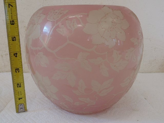 Acid cut Steuben artglass vase