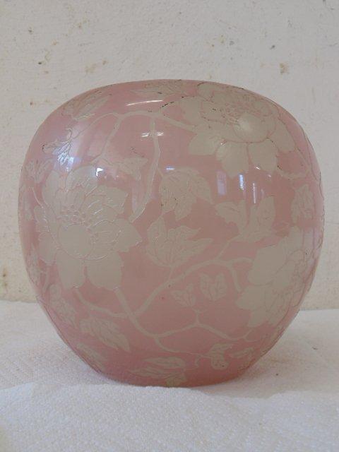 Acid cut Steuben artglass vase - 3