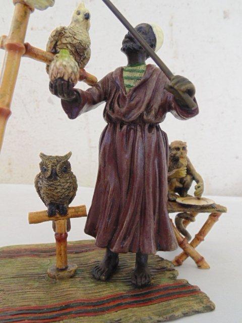 Bergman Vienna bronze, North African figure - 2