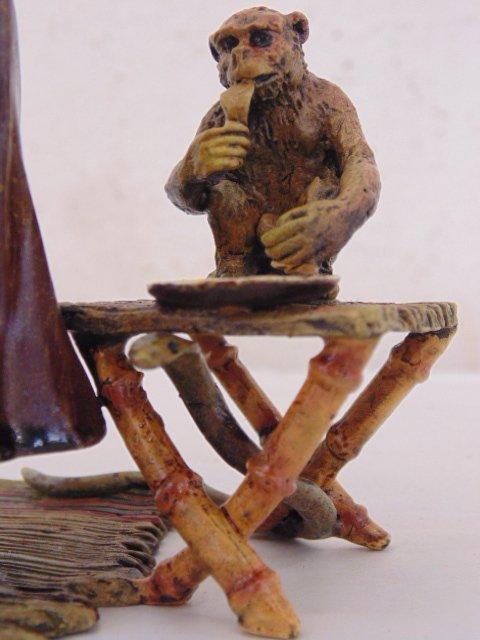 Bergman Vienna bronze, North African figure - 3