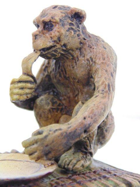 Bergman Vienna bronze, North African figure - 6