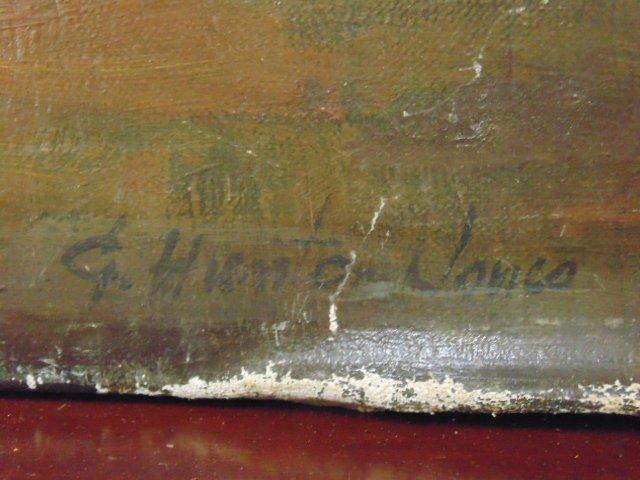 Painting, 3 nude figures,  G. Hunter Jones - 6