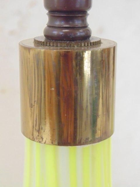 Pair art glass Murano lamps, Salviati & Co - 5