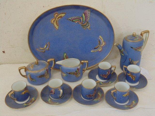 Nippon porcelain tea set