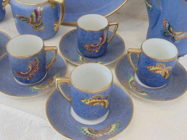 Nippon porcelain tea set - 2