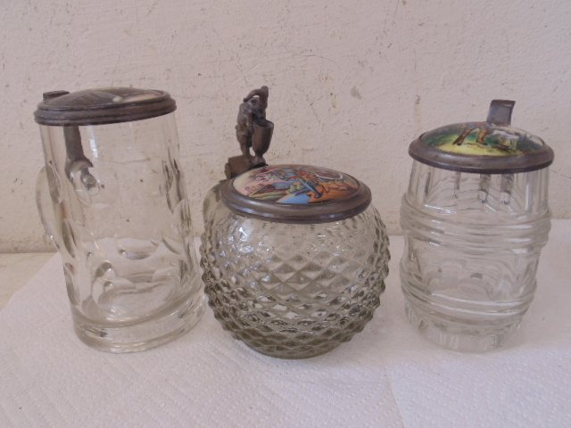 lot of 5 German steins - 3