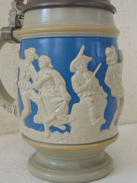 lot of 5 German steins - 9