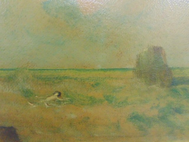 Painting, shore with figure, Louis Eilshemius - 4