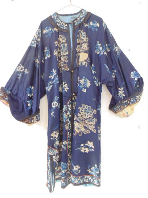 Chinese embroidered robe,