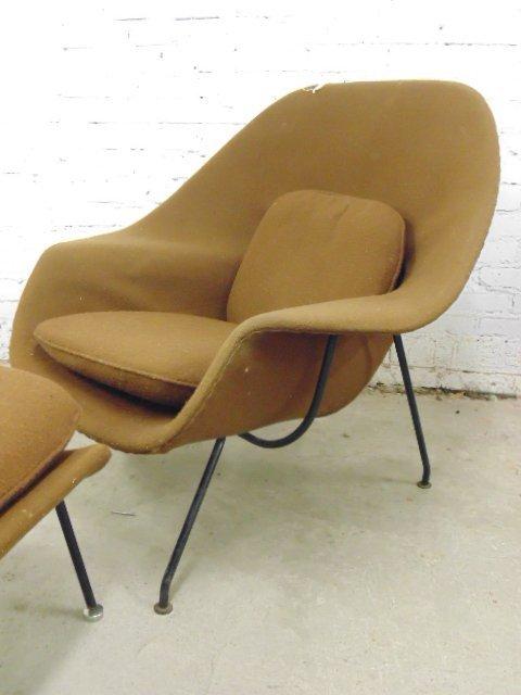 Knoll, Saarinen womb chair & ottoman - 2